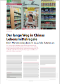 Der lange Weg in Chinas Lebensmittelregale